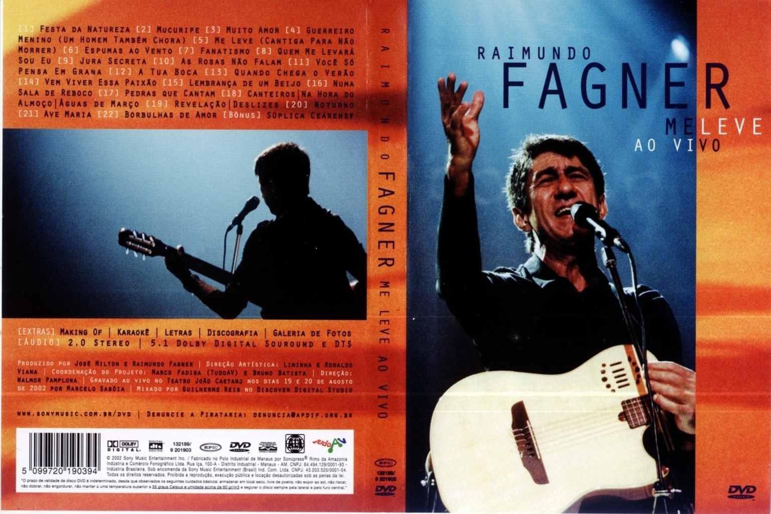 DE BAIXAR FAGNER CD RAIMUNDO AO VIVO